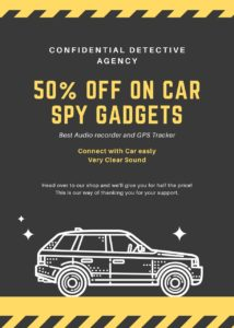 spy gadgets used by detective agency